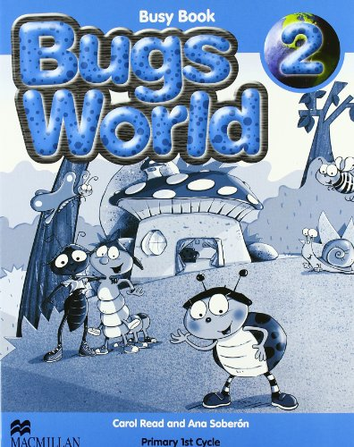 BUGS WORLD 2 Busy Book