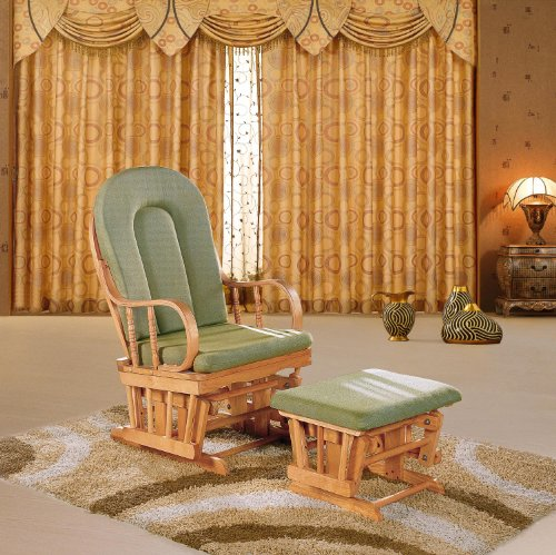 Baby Glider And Ottoman front-113862