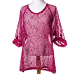 Pink Mesh Tunic