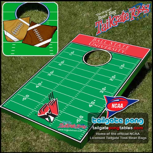 Ball State Cardinals College Tailgate Toss Cornhole Game - FREE SHIPPING