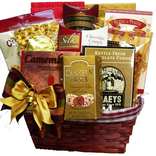Art of Appreciation Gift Baskets Snack Lover's Basket