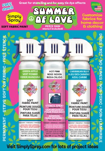 Summer of Love Soft Fabric Spray Kit