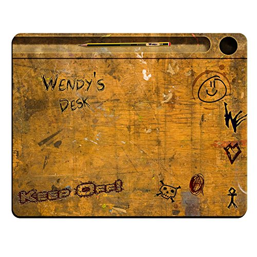 wendys-desk-vintage-school-desk-personalised-premium-mouse-mat-5mm-thick
