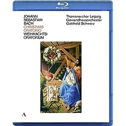 J. S. Bach: Christmas Oratorio - Thomanerchor Leipzig, Gewandhausorchester Leipzig, Gotthold Schwarz from St. Thomas Church Leipzig [Blu-ray]