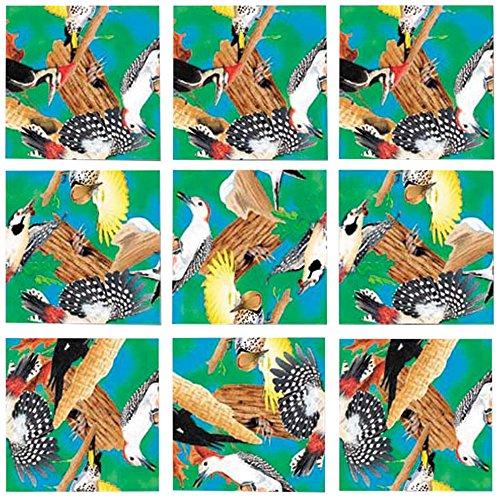 B Dazzle Woodpeckers Scramble Squares 9 Piece Puzzle