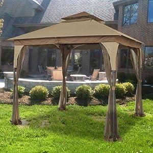 Amazon Com 8 X 8 Outdoor Patio Gazebo Replacement Canopy