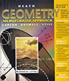 img - for Geometry: An Integrated Approach (Teacher's Edition) book / textbook / text book