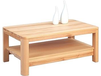 """Couchtisch Massivholz Tisch Wohnzimmertisch Sofatisch Loungetisch Massiv """"Erik"""""""