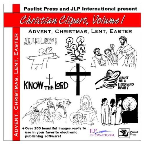 Christian Clip Art I: Advent,Christmas, Lent, Easter: 1 (Christian ...