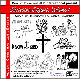 Christmas, Lent, Easter (Christian Clipart) Audio CD – May 1, 1998