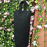 Amgate Garden Strawberry Grow Bag Vertical Wall Hanging Planter ~ for Indoor/Outdoor, Easy to Hang & Fill, Eco-friendly Recycled Materials, Cylinder