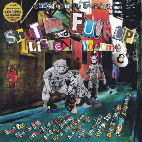 Vinilo : VARIOUS ARTISTS - Shut The Fuck Up & Listen 8