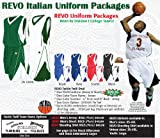 Anaconda Sports® Basketball Revo Tackle Twill Deal Italian Uniform Package 02 (Call 1-800-398-7625 to order)