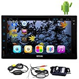 7Inch Android 4.2 Universal Autoradio Car GPS Navigation Player Support GPS /Bluetooth/USB/FM/AM Radio WiFi Dual Core-CPU Capacitive HD Touch Screen Stereo In-dash Headunit + Free Wireless Rear Camera