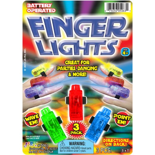 Finger Lights - 3 Pack