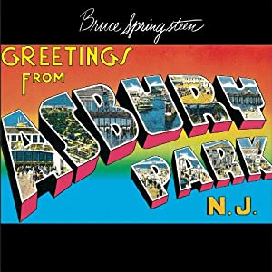 Send your greetings with vacation postcard font graphics unleashed wh ile todays font isnt exactly the same it definitely reminds me of the text used on bruce springsteens greetings from asbury park nj album cover m4hsunfo