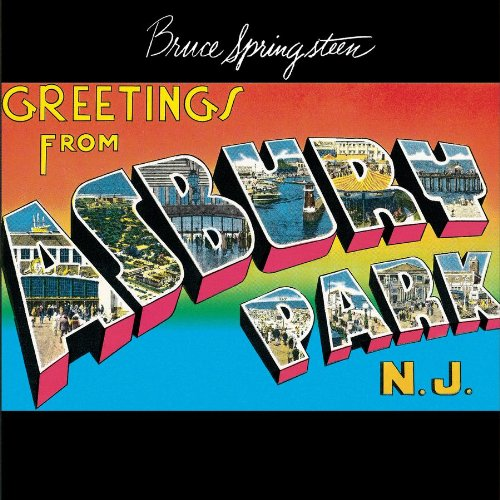 Original album cover of Greetings From Asbury Park, N.J. by Bruce Springsteen
