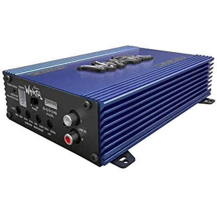 Lanzar WDN2000.1D Mini Amplificateur 2000 W Bleu
