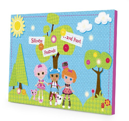 "MGA Lalaloopsy 15.75"" x 11.5"" LED Canvas Wall Art - 1"