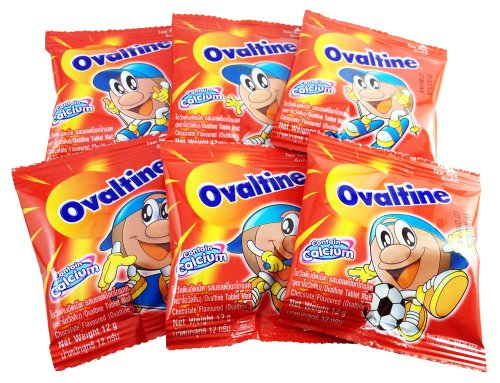 Ovaltine Tablets Malt By Ovaltine Thailand (6 Pieces In Pack)