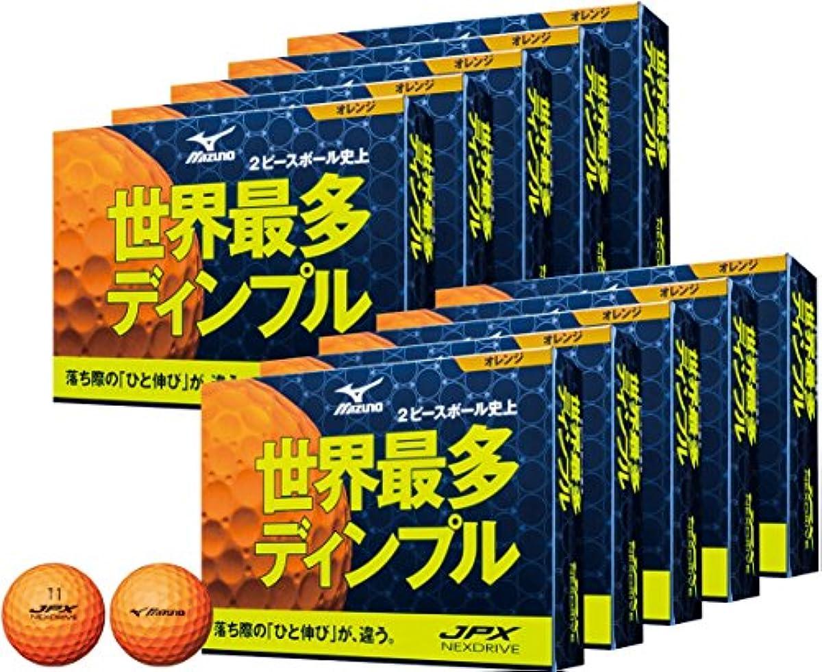 [해외] MIZUNO(미즈노) 골프 볼 JPX 네구스도라이부 10다스(120개 들이) 유니섹스 5NJBH7254012P 오렌지