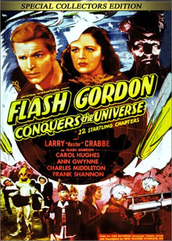 Cover art for  Flash Gordon Conquers the Universe