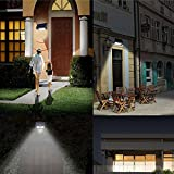 32 LED Solar Power PIR Motion Sensor Wall Light Outdoor Waterproof Garden Lamp
