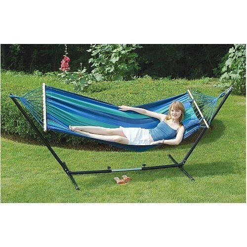 Stansport 31190 Cayman Double Fabric Hammock