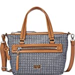 Fossil Dawson DNM Satchel Bag, Denim,...