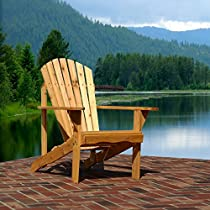 Designed For Outdoors Adirondack Fan Back Chair