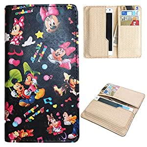 DooDa PU Leather Quality Wallet Case Cover With Card Slots Pouch For Lava Iris Fuel F2