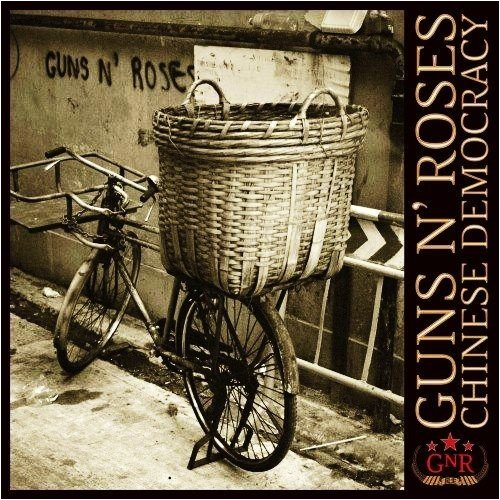 Original album cover of Chinese Democracy by Guns N' Roses