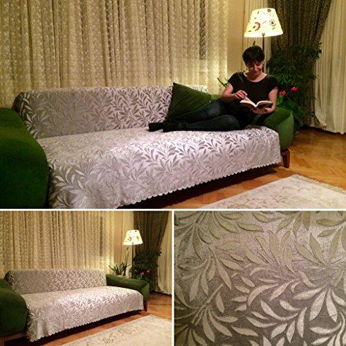 Authentic Turkish Sofa Futon Couch Cover (Acacia) (Stone)