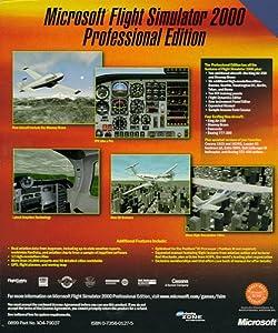 Microsoft Flight Simulator 2000 Professional - PC