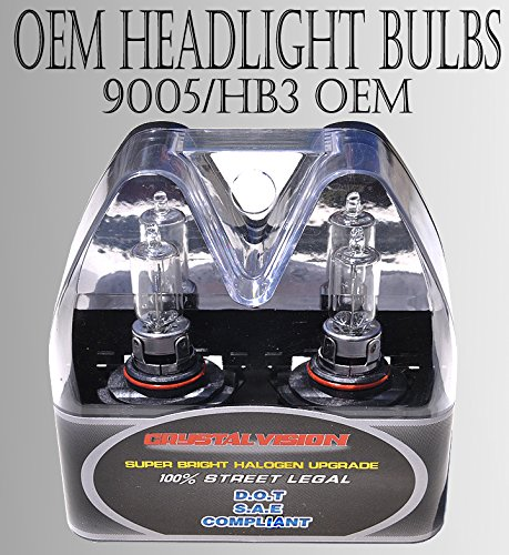9005-HB3 65W HIGH BEAM OEM FACTORY STOCK HEAD LIGHT BULBS DOT APPROVED (1997 Chevy S10 Head Light compare prices)