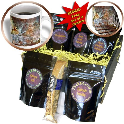 Cgb_76816_1 Sandy Mertens Space Gallery - Galaxy And Nebula - Eta Carinae Nebula By Nasa Hubble Telescope - Coffee Gift Baskets - Coffee Gift Basket