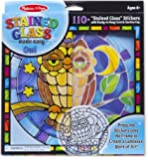 Melissa & Doug Stained Glass - Owl