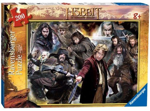 Ravensburger The Hobbit Middle Earth Adventures XXL 200 Piece Puzzle