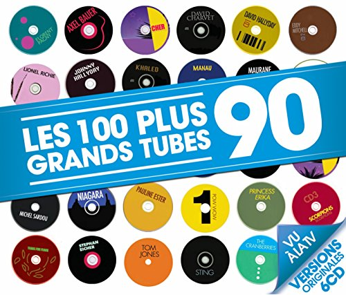 les-100-plus-grands-tubes-90-6-cd