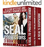 Mystery and Suspense: SEAL Protectors (3 Book Box Set) (Clean Navy Seal Military Romance)