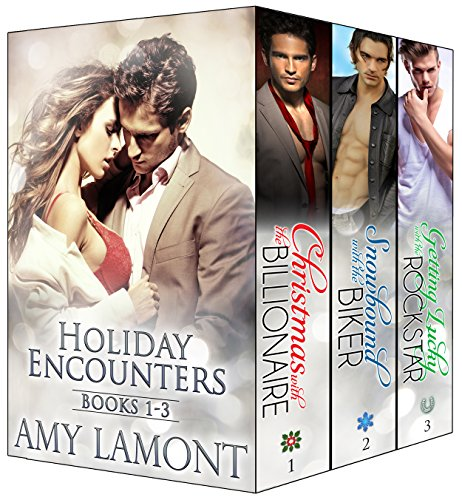 FREE today: The first three books of the heartwarming and sexy Holiday Encounters series.  Holiday Encounters Books 1-3 by Amy Lamont