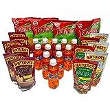 Combito Mi Pulpe El Salvador / Variety Combo Mix Snack (Kolashampan - Zambos Plantain Chips - Naturas Refried Beans - Naturas Sauces)