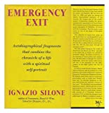 Emergency Exit (0575003308) by Silone, Ignazio