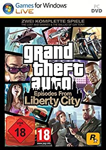 Grand Theft Auto - Episodes from Liberty City (TheLost and the Damned & The Ballad of Gay Tony) [Software Pyramide] - [PC]