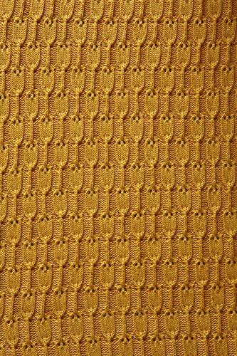 ホールマークホーム休日Throw Blanket Lap ゴールド 1MJB4252 Hallmark Home