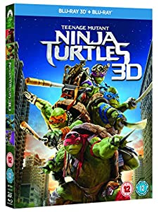Teenage Mutant Ninja Turtles [Blu-ray 3D + Blu-ray] [Region Free]