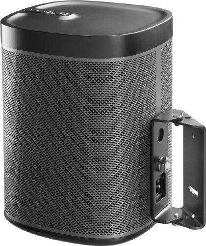 SN1 TB Wandhalterung für Sonos Play:1, Edelstahl schwarz