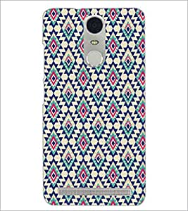 PrintDhaba Pattern D-5201 Back Case Cover for LENOVO K5 NOTE (Multi-Coloured)