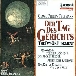 Telemann G.P.: Tag Des Gerich