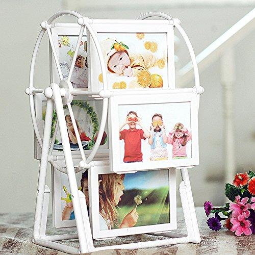 TT&FF Kreativen 5-Zoll Photo Frame Windmühle ABS gedrehten Child-Tabelle Riesenrad Foto Bilderrahmen Hochzeit Bilderrahmen studio